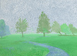 David hockney treesmisthd 1 grid