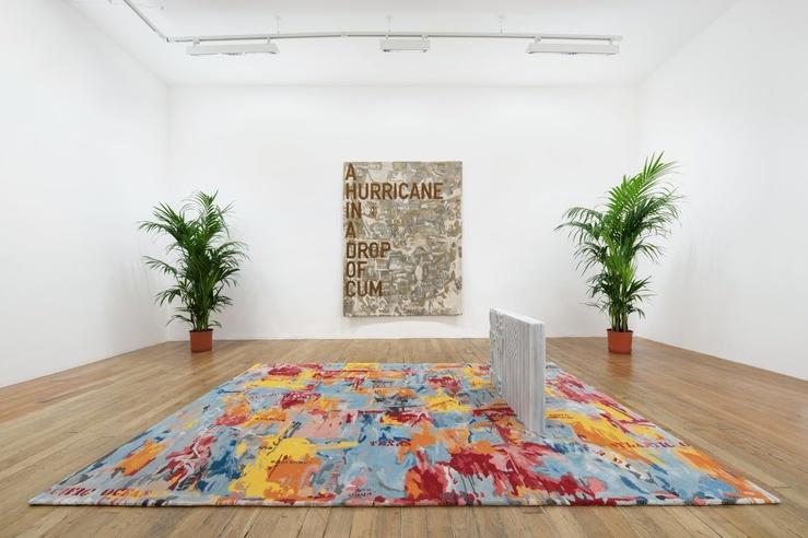 Rirkrit Tiravanija, untitled 2020 (once upon a time) (after jasper johns), Vue d'exposition