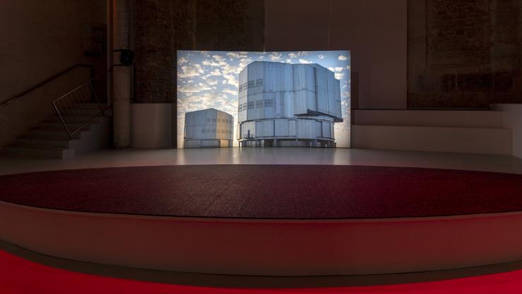 Caroline Corbasson, Ellipse, vue de l'exposition à La Maréchalerie—centre d'art contemporain, 2020