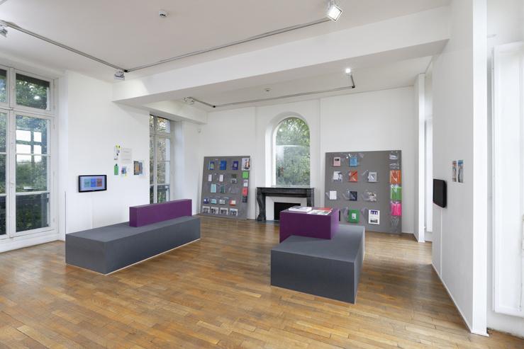 Vue de l'exposition Variations épicènes MABA, Nogent-sur-Marne, 2020
