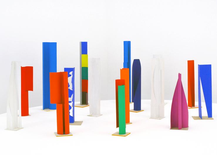 Gottfried Honegger, Ensemble de maquettes, Karina WISNIEWSKA, Morning Tunes 1 et Morning Tunes 2, 2005