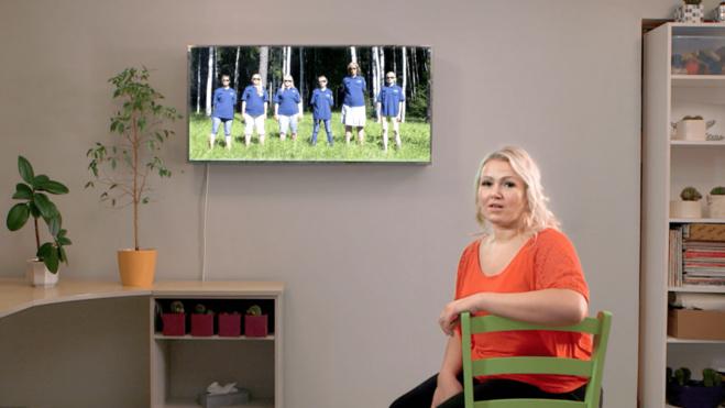 Flo Kasearu, Festival of The Shelter, intervention au refuge de femmes de Pärnu, vidéo HD, 9'14, 2018