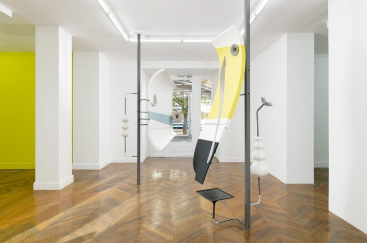 Vue de l'exposition Félix Pinquier, Futurologies à La Galerie, centre d'art contemporain de Noisy-le-Sec