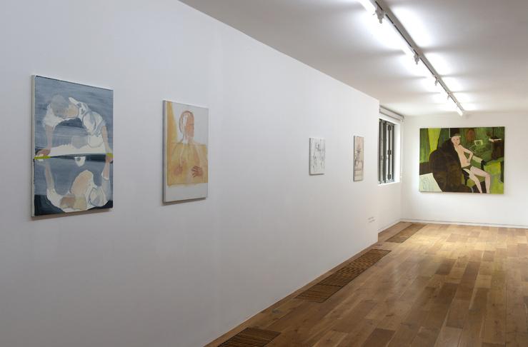 Vue de l'exposition personnelle de Bernard Gaube, I'm one of them, L'ahah Griset, Paris, France, 2020