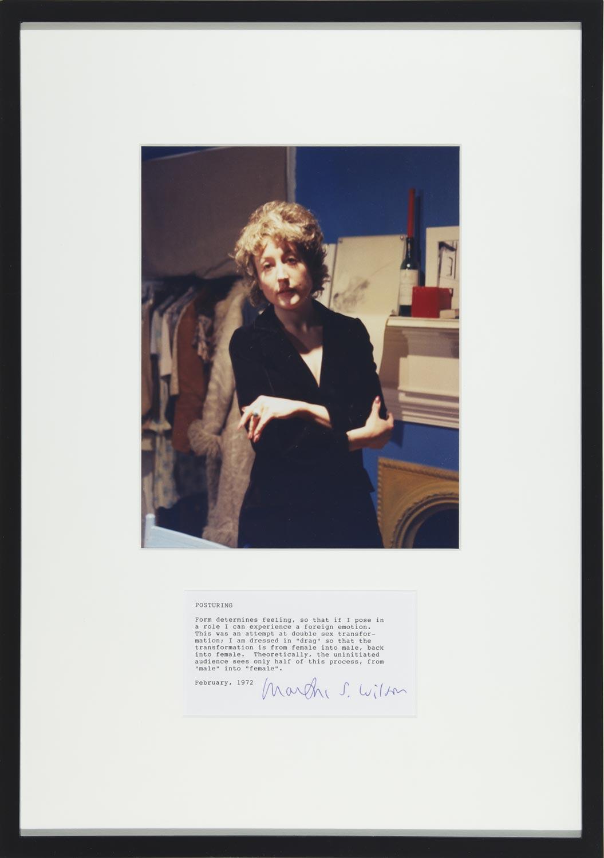 Martha wilson posturing drag mfc michele didier 161 1 original