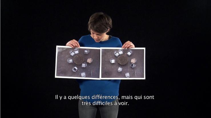 """Paulien Oltheten, La Défense, The venturing Gaze, capture d'écran, 42'35"""", 2017-2018"""
