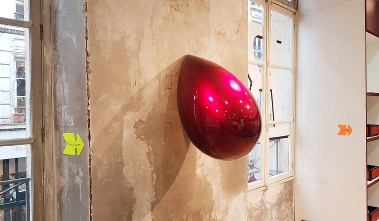 Vue de l'exposition Truc à faire—Curated by JR, Galleria Continua, Paris