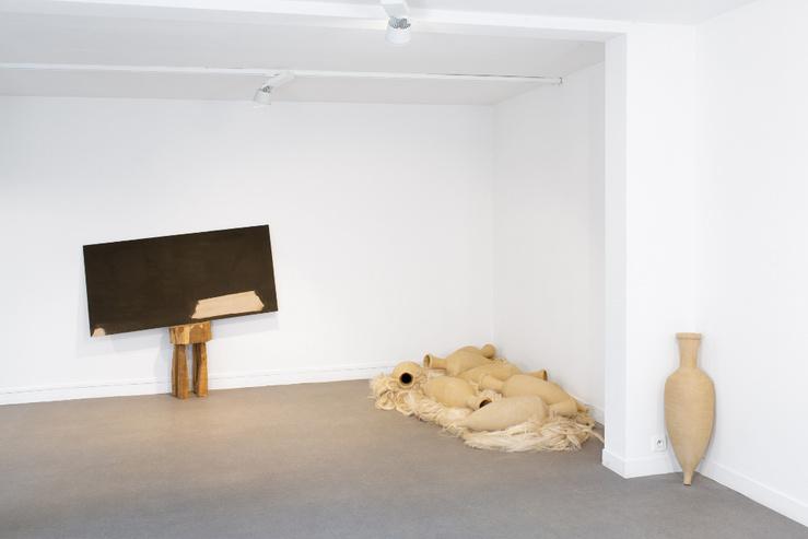 Vue de l'exposition objectif : société, d'Edgar Sarin au Centre d'Art Contemporain Chanot à Clamart, 2020