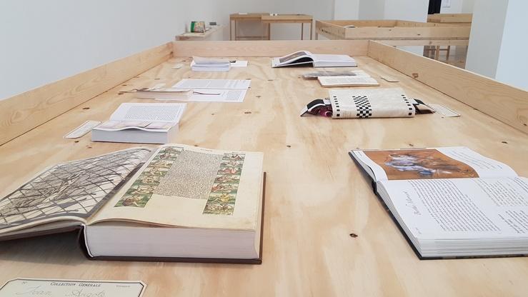 La Page manquante, un projet de Renaud Auguste-Dormeuil au Centre Wallonie-Bruxelles, Paris