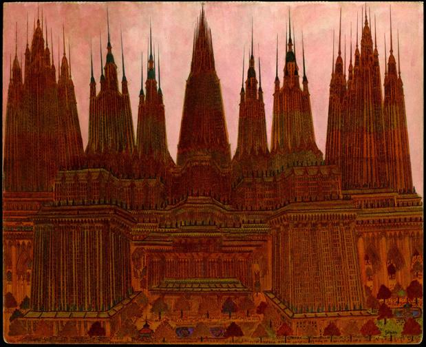 Galerie loevenbruck marcel storr artiste cathedrale dessin paris exposition 13 1 medium