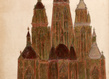Galerie loevenbruck marcel storr artiste cathedrale dessin paris exposition 16 1 grid