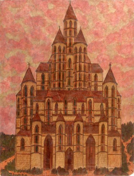 Galerie loevenbruck marcel storr artiste cathedrale dessin paris exposition 18 1 medium