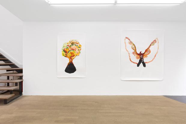 Backslash galerie gallery paris odonchimeg davaadorj exposition 10 1 medium