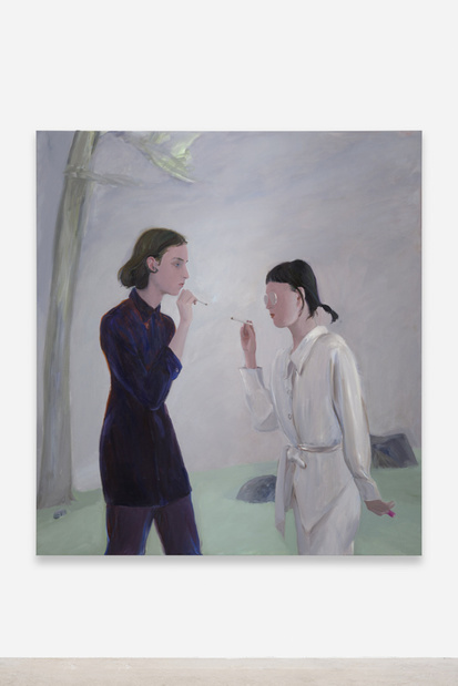 Xinyi cheng peintre artiste artist peinture balice hertling exposition 16 1 medium