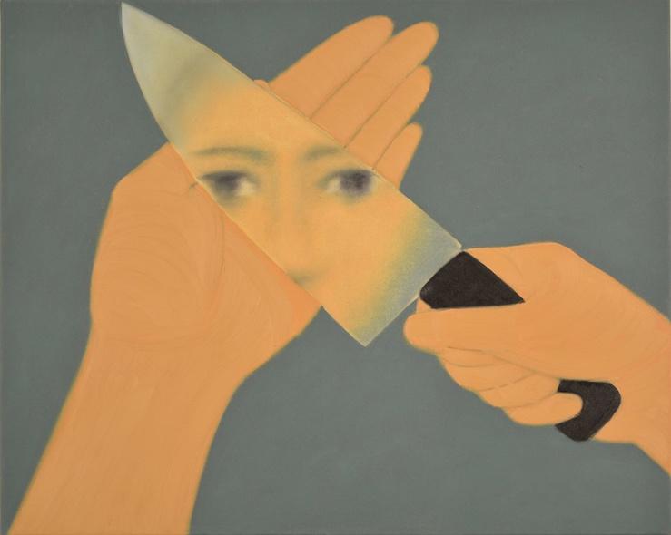 Henni Alftan, Kitchen, 2016—Huile sur toile, 65 x 81 cm