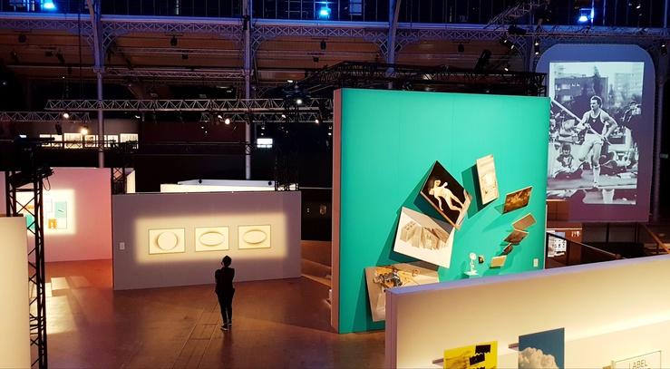 Vue de l'exposition 100% L'Expo, Sorties d'écoles, La Villette, 2021