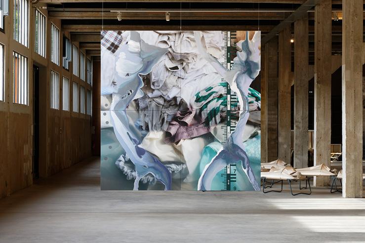 Vue de l'exposition 'Interrelations'