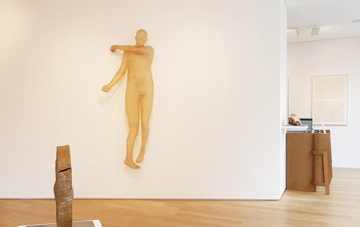 Kiki Smith, vue de l'exposition From Inside, Galerie Lelong & Co., Matignon, 2021