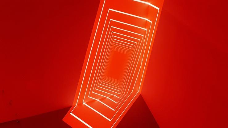 Olivier Ratsi, vue de l'exposition Heureux soient les fêlés car ils laisseront passer la lumière, La Gaîté Lyrique, Paris, 2021