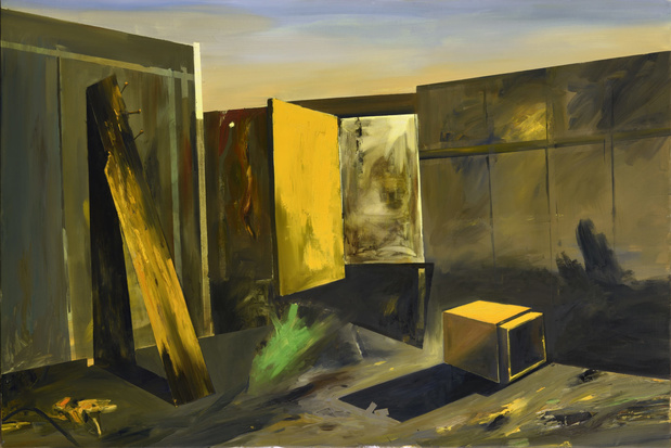 Karine hoffman cosmic studio 195x130cm huile surtoile 2021 1439x960 1 medium