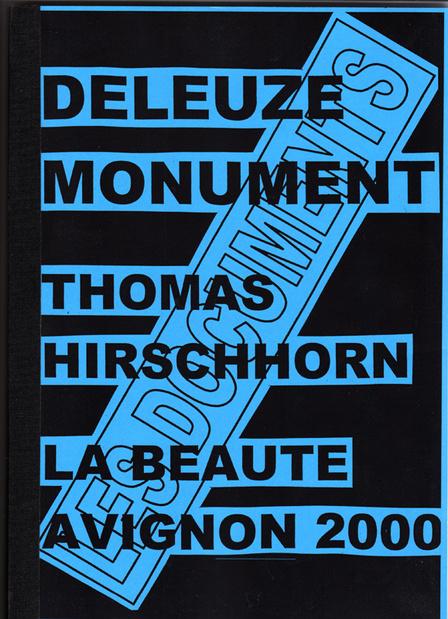 Hirschhorn deleuze 2000 1 medium