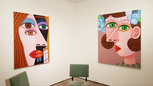 Galerie almine rech exposition paris brian calvin artiste 1 1 medium