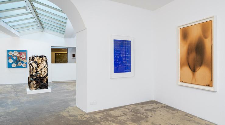 Vue de l'exposition «Nouveau Réalisme = nouvelles approches perceptives du réel», galerie GP & N Vallois, Paris, 2021