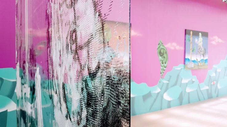 TOI 700d, vue de l'exposition à la galerie Les filles du calvaire, Paris