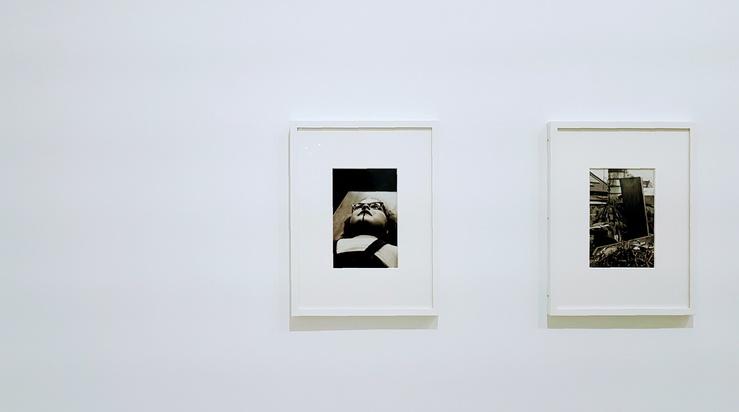 Vue de l'exposition Michael Schmidt, Jeu de Paume, Paris, 2021
