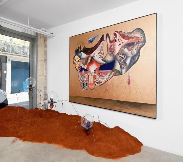 Galerie g p n vallois lucie picandet article critique peinture exposition 2 medium