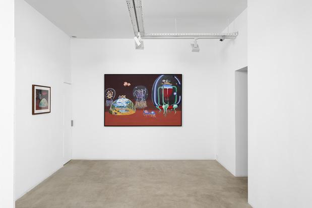 Galerie g p n vallois lucie picandet article critique peinture exposition 13 medium