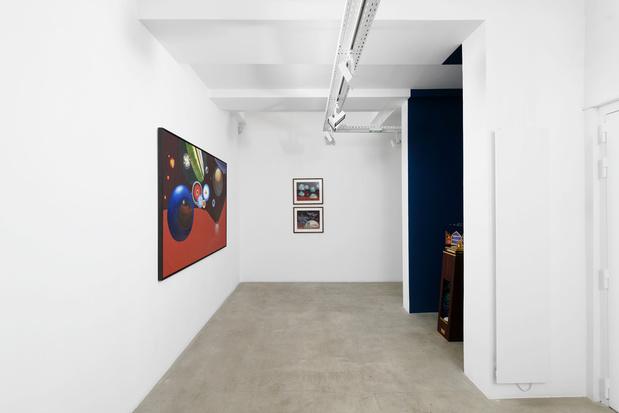Galerie g p n vallois lucie picandet article critique peinture exposition 14 medium