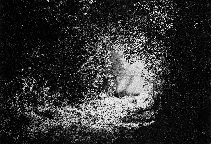 Sylvain Ciavaldini, vue de l'exposition Et l'horizon s'enfuit d'une fuite éternelle !…, galerie Sator, Romainville, 2021
