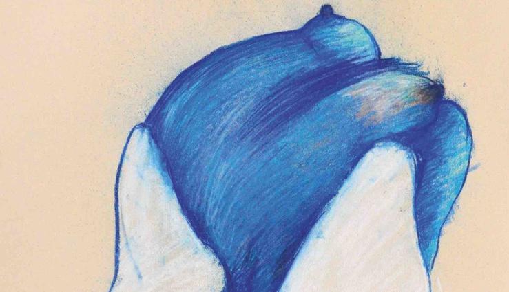 Monique Frydman, Sans titre, 1976 (Détail)—Pastel sur papier Canson 65 x 50 cm—Format raisin