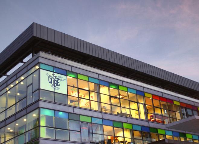 Le Cube,Centre d'art et de création numérique