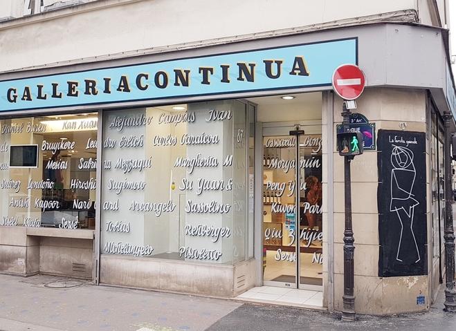 Galleria Continua,Paris